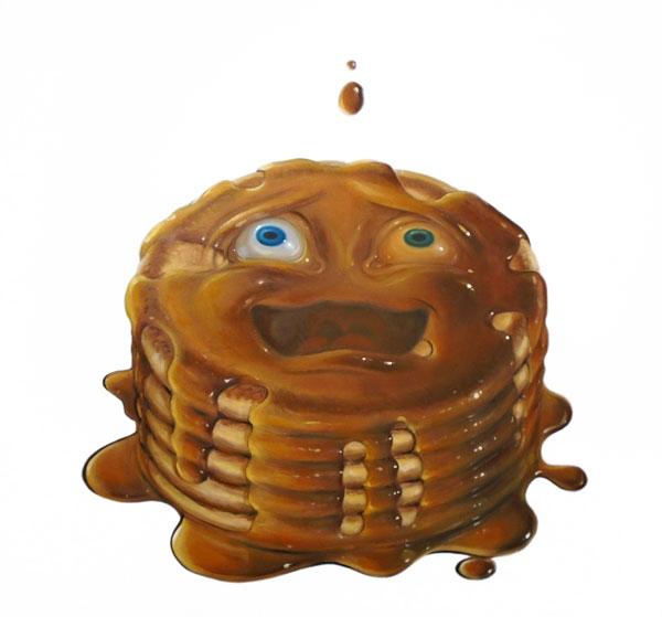 Pancakes - Stephen Gibb, oil pa - sgibb | ello