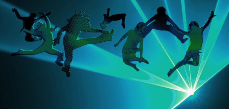 bg, web, dancing, jumping, trampoline - overcatbe | ello