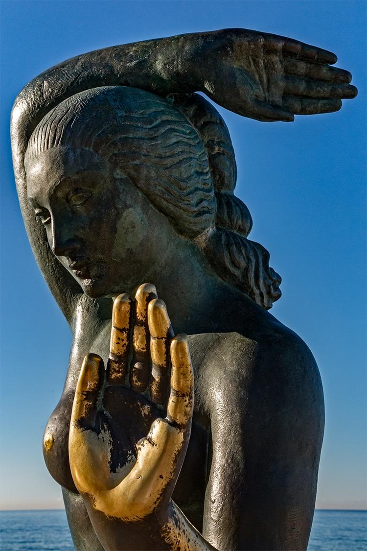 mermaid Sitges - mermaid#, beach - stephanepictures | ello