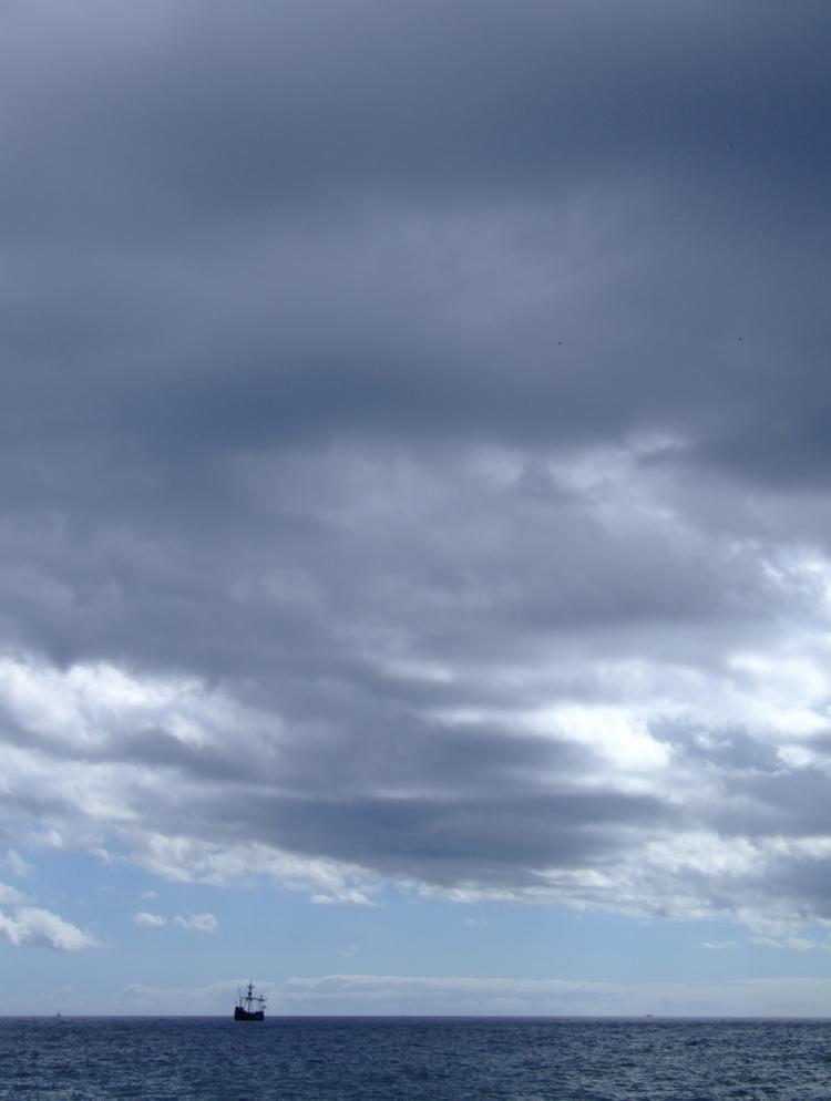 Nau Santa Maria Atlantic Ocean - euric   ello
