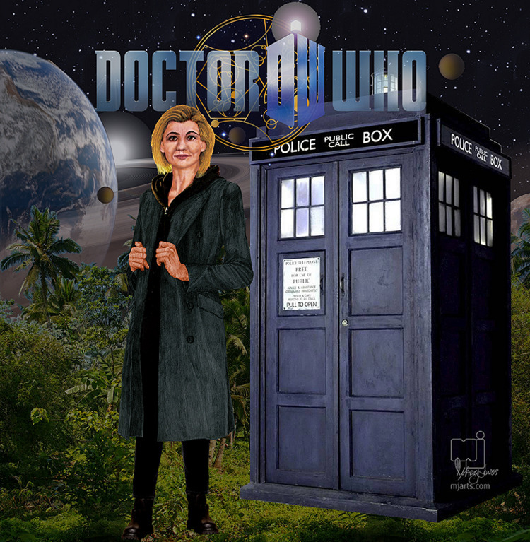 13th Doctor - mjartscom | ello