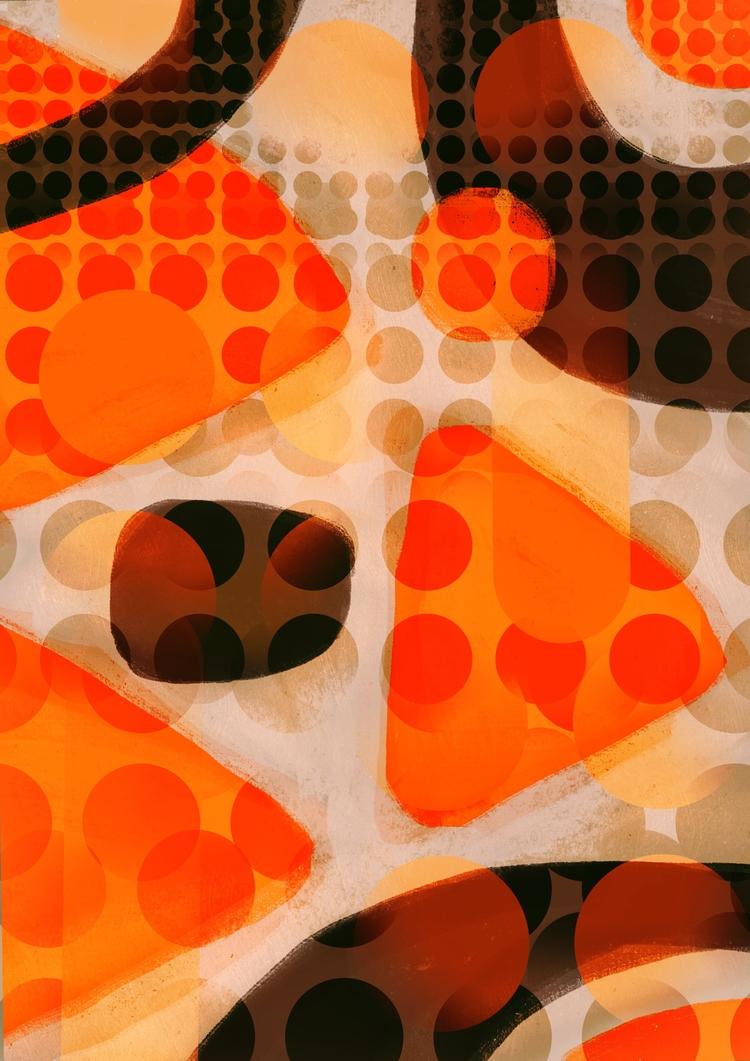 midcentury, art, digitalprint - chrissyink | ello
