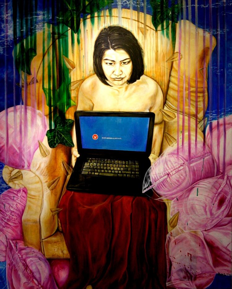 Contemporary artist Kurchi Dasg - thefloatingmagazine | ello