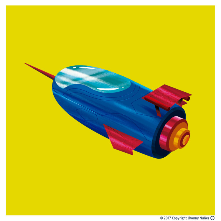 El Kryptonian Rocket de Superma - dblackhand | ello