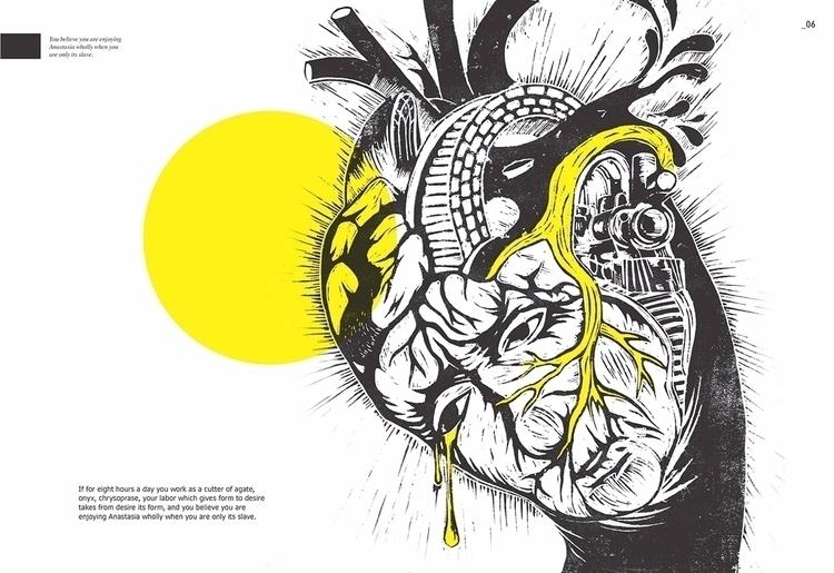 Singapore based illustrator gra - thefloatingmagazine | ello