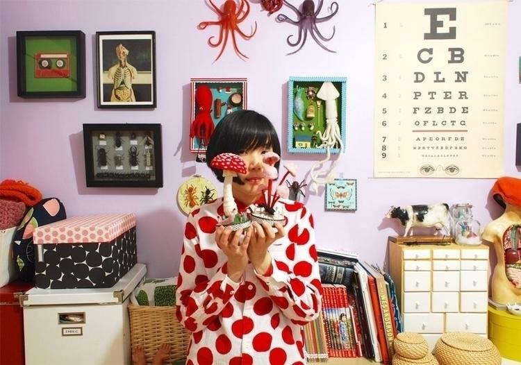 Japanese artist Hiné Mizushima  - thefloatingmagazine | ello