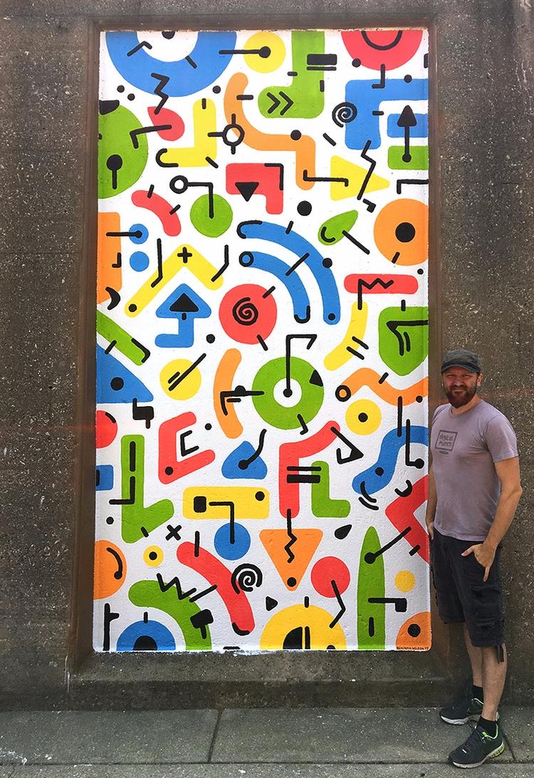 Mural complete (phew). fun expe - benjaminnelson | ello