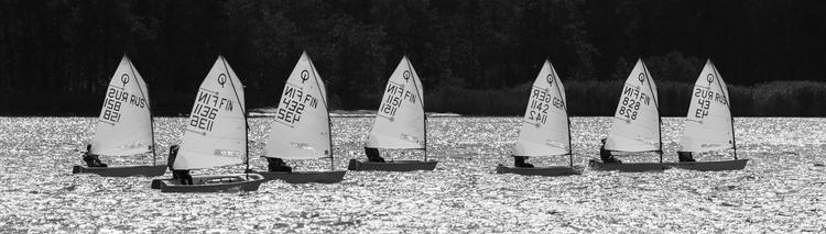 Optimist regatta - photography, landscape - anttitassberg | ello