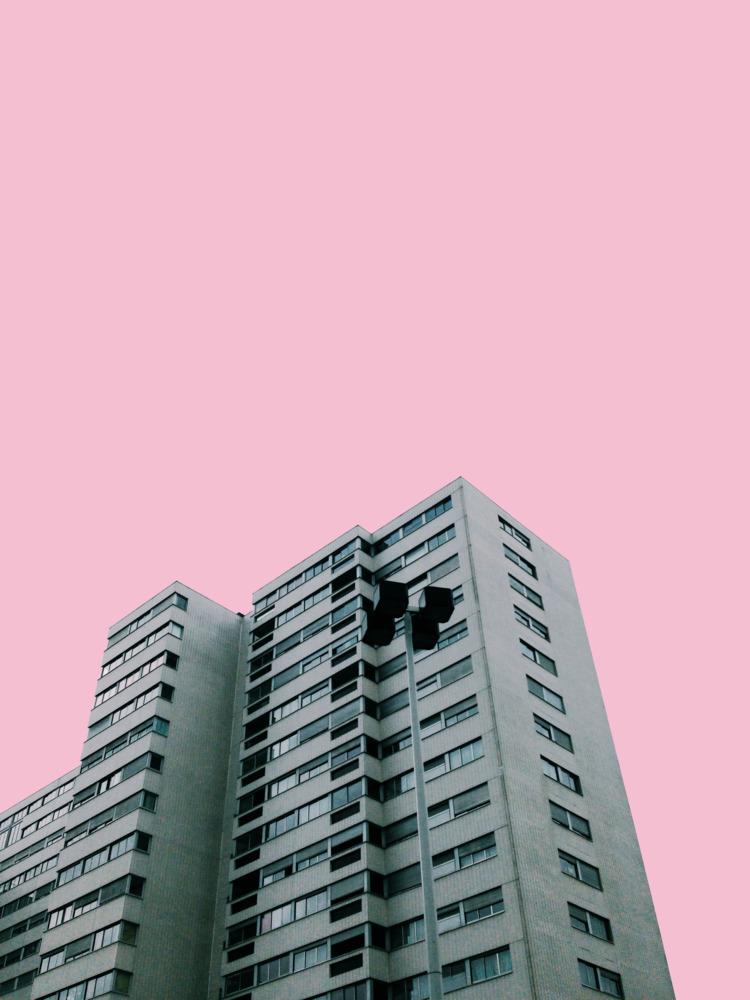Pink Architecture - thalebe   ello