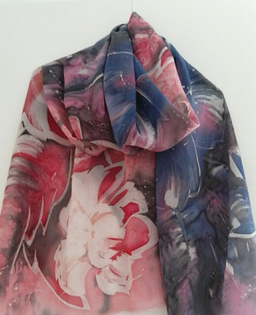 Scarf Colourful fairy Hot Batic - katerina08 | ello