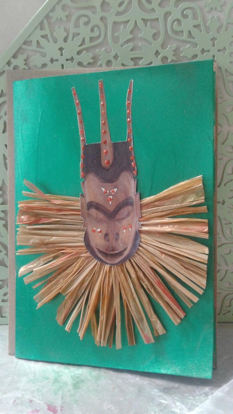 Masquerade Mystery - greetingcard - eboscribeschic | ello