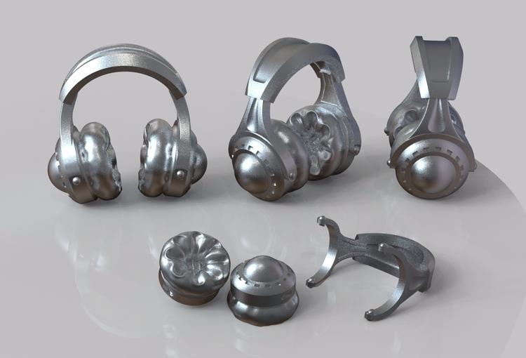 Pocket full headphones - (assem - artartifactstw | ello