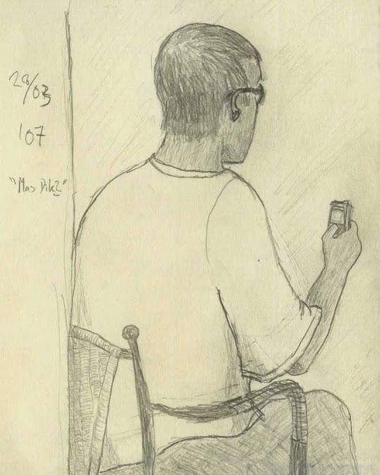 pencil sketch 2007... sworn pos - ferdiz   ello