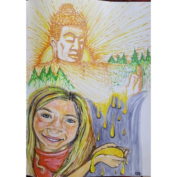 Juice Iyla - Buddha - openeyevibez   ello