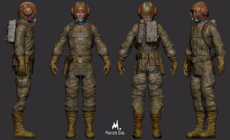 Tribute Moebius - soldier Simpl - marcelo_d   ello