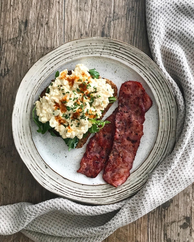 Homemade Egg Salad + Arugula Mu - masappetit | ello