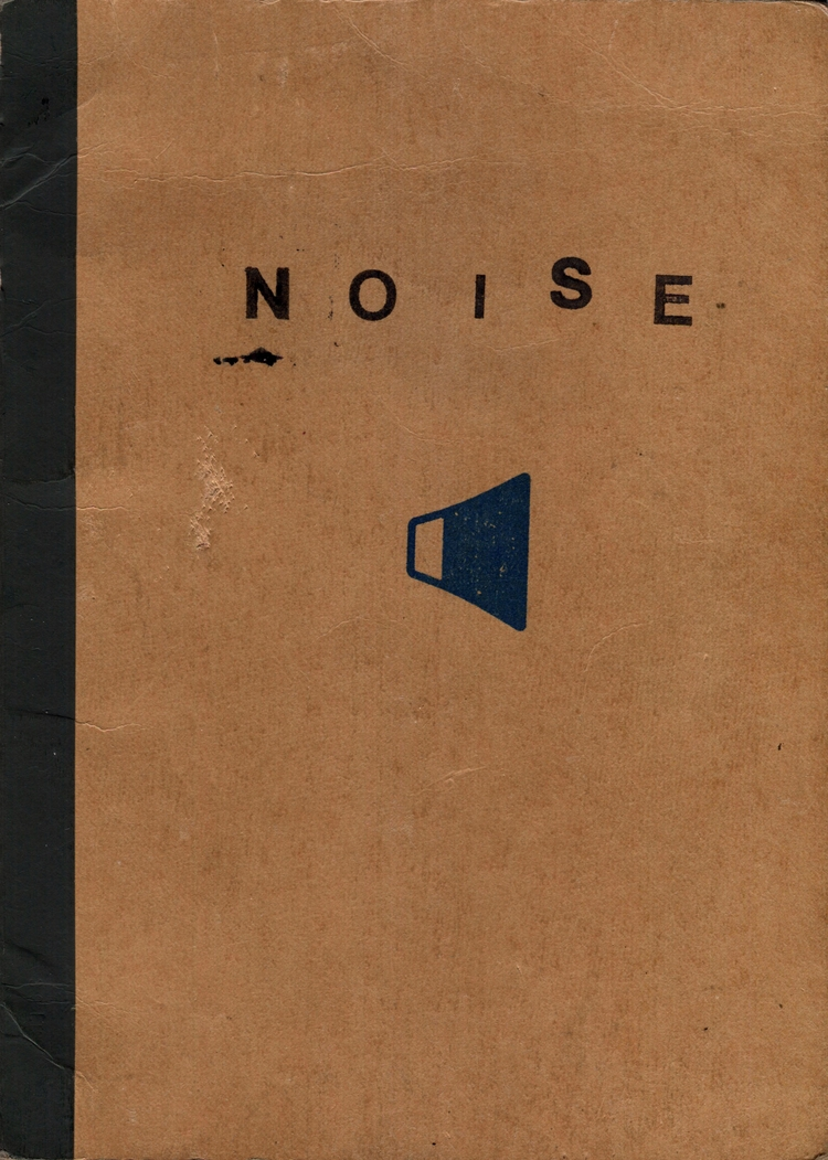 NOISE, printed book cover, 2015 - gfisher | ello