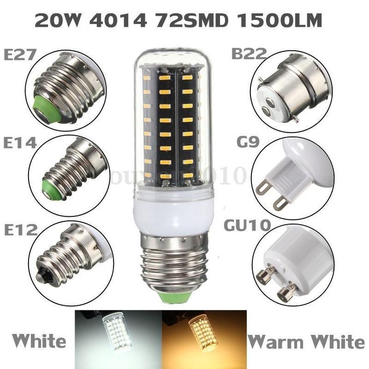 LED - E14, E27, E12, B22, G9, GU10 - bagyi | ello