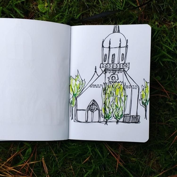 France sketchbook - cogginsketchbook | ello