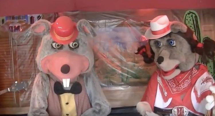 goodbye Chuck animatronic band  - bonniegrrl | ello
