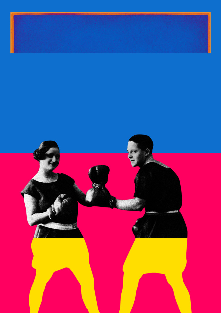 Fight Girl, 2016 Poster, digita - thcart | ello