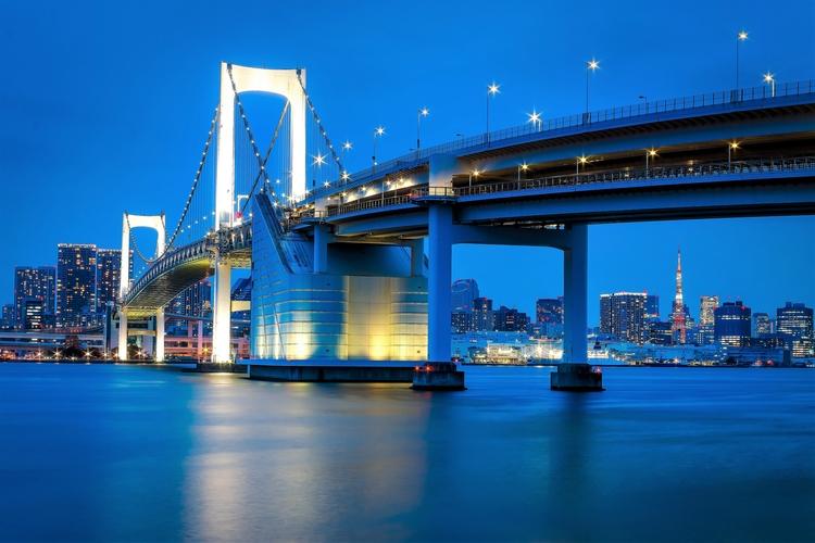 Rainbow Bridge- Tokyo Tower pee - davecurry8 | ello
