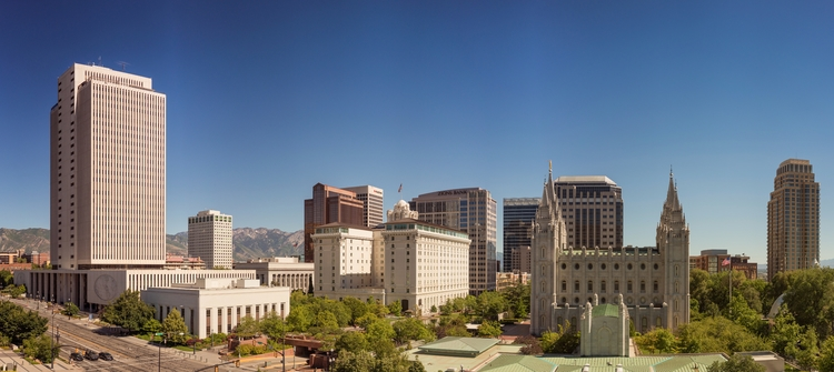 Salt Lake City view convention  - rickschwartz | ello