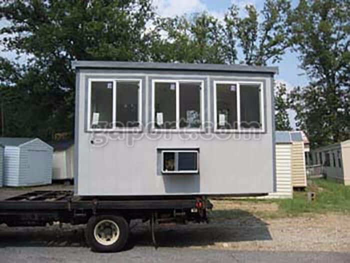 Georgia Portable Buildings Comp - guardhouses   ello
