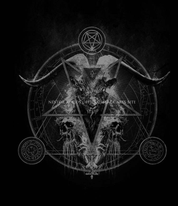 Nomine Dei Nostri Satanas Artwo - nestoravalosofficialblackartssite   ello