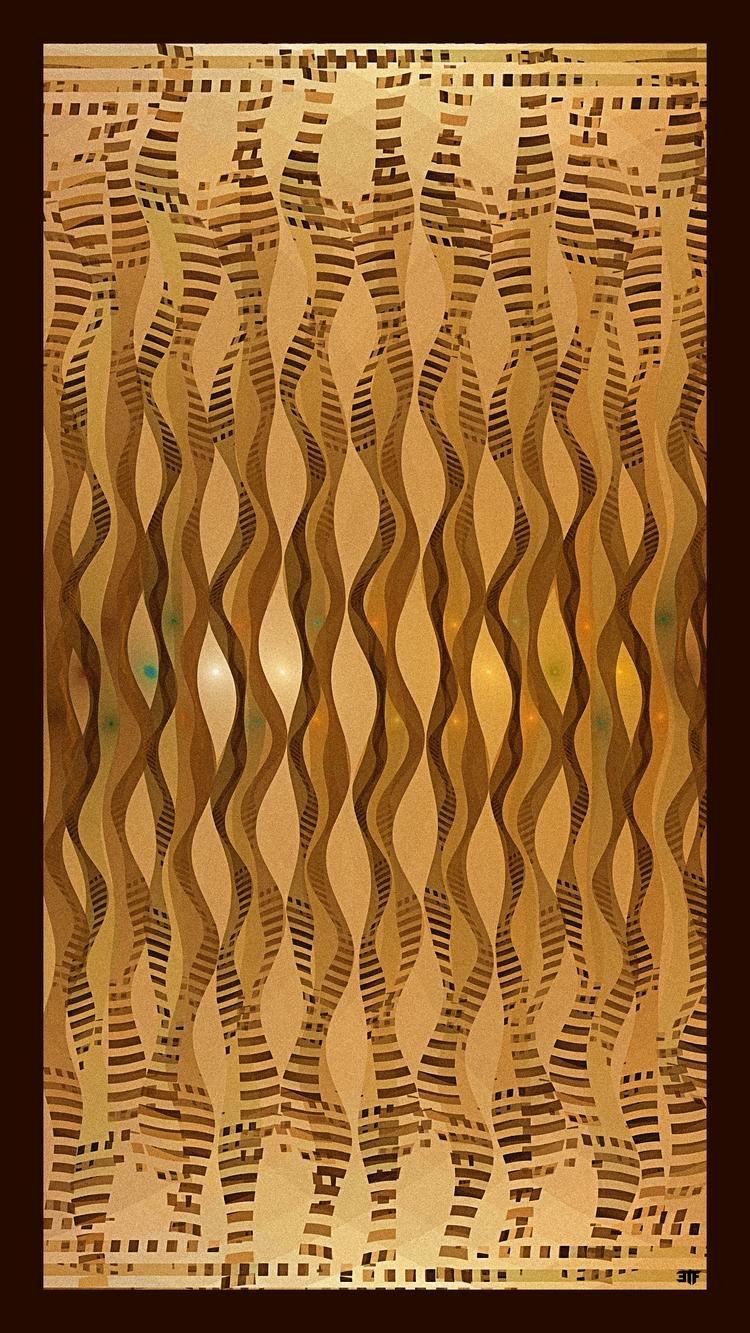 GnarlyJess 2 - Jwildfire,, fractals, - 3tonfeather | ello