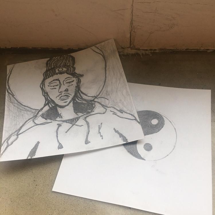 meditation, harmony, illustration - dreaming_mao | ello