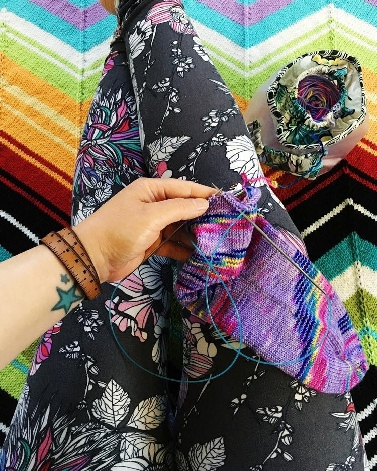 sock knitting - knitlife, elloknitting - misocraftyknits | ello