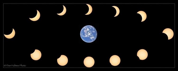 Partial Eclipse fun partial Sol - danholmesphoto | ello