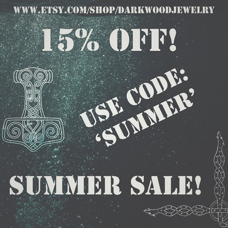 Summer sale starts runs Friday - darkwoodjewelry | ello
