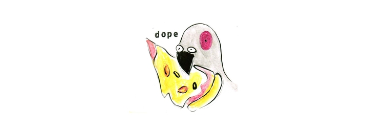 200817 Dope.  - pizza, kseyes, illustrations - kseyes_illustration | ello