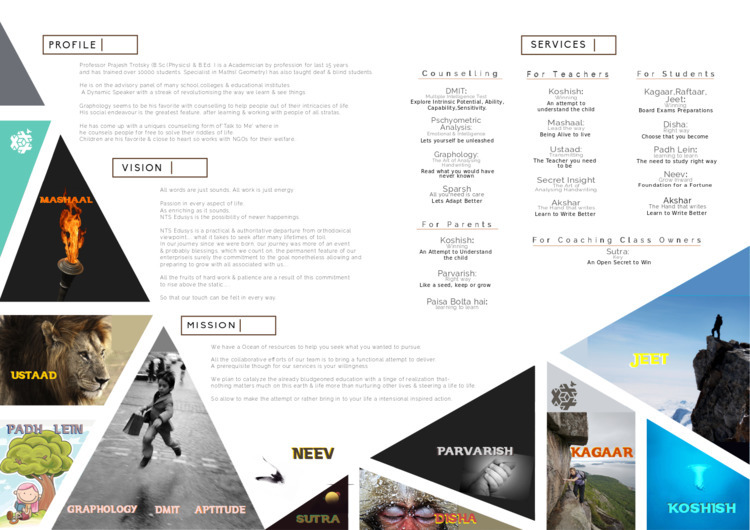 layout, Brochure, art, copywriting - sdhr_gkwd | ello