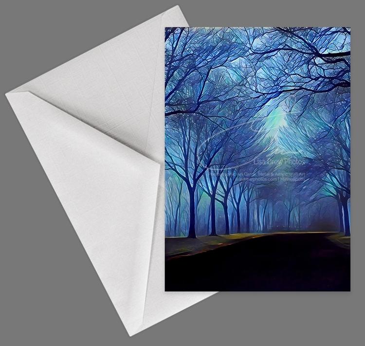 Study Blue - 5x7 art card. phot - lisadrewphotos | ello