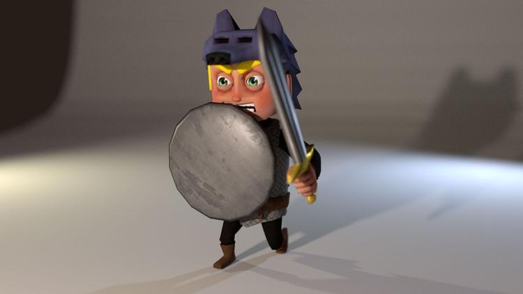 poly character Mobile RPG - creativebythesea | ello