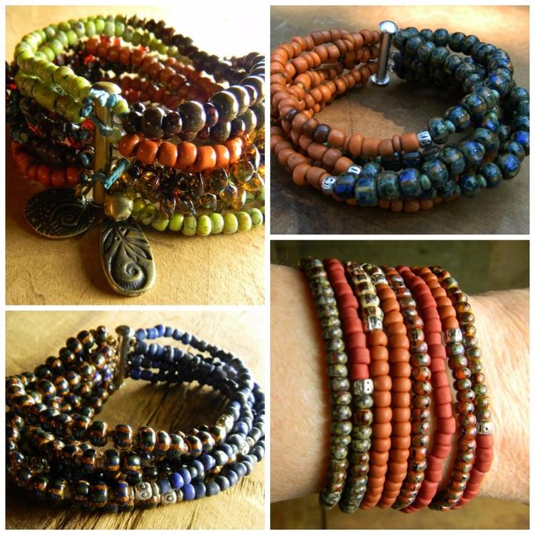 Custom Order Boho Bracelets - c - chrysalistribaljewelry | ello