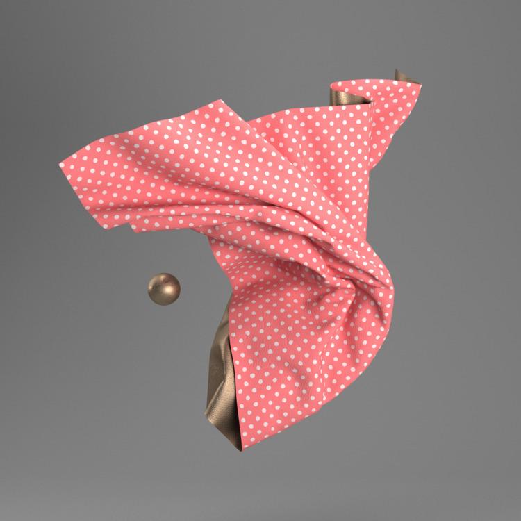 flow, art, fabric, 3d - garabatfire | ello