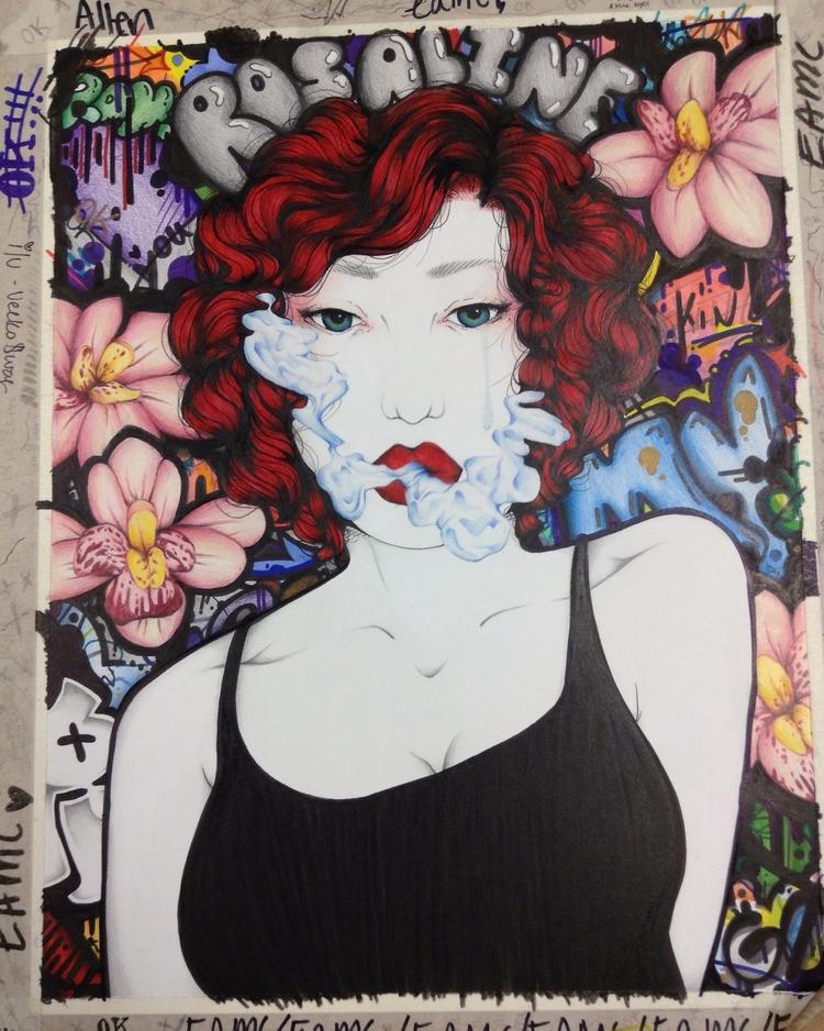 Rosaline 14 11 prisma color, gr - tiffannymedina | ello