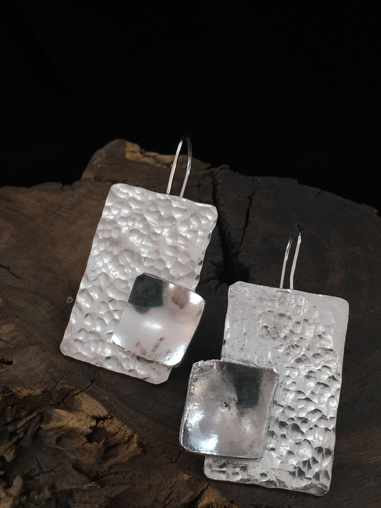 Sterling Silver Drop Earrings - desertnightsstudio - desertnightsstudio | ello