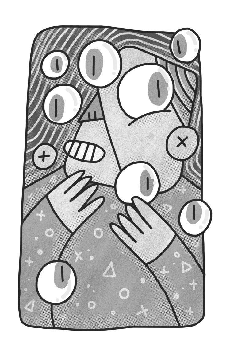 Floating boy - ART, digital, drawing - gueroguero | ello