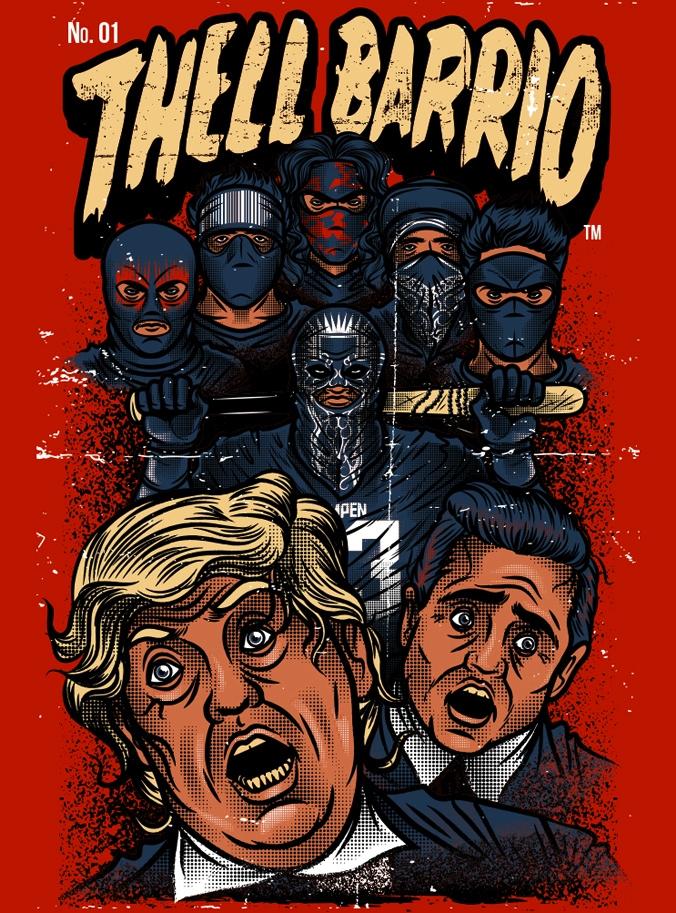 Thell Barrio Tshit Illustration - manuelcetina | ello