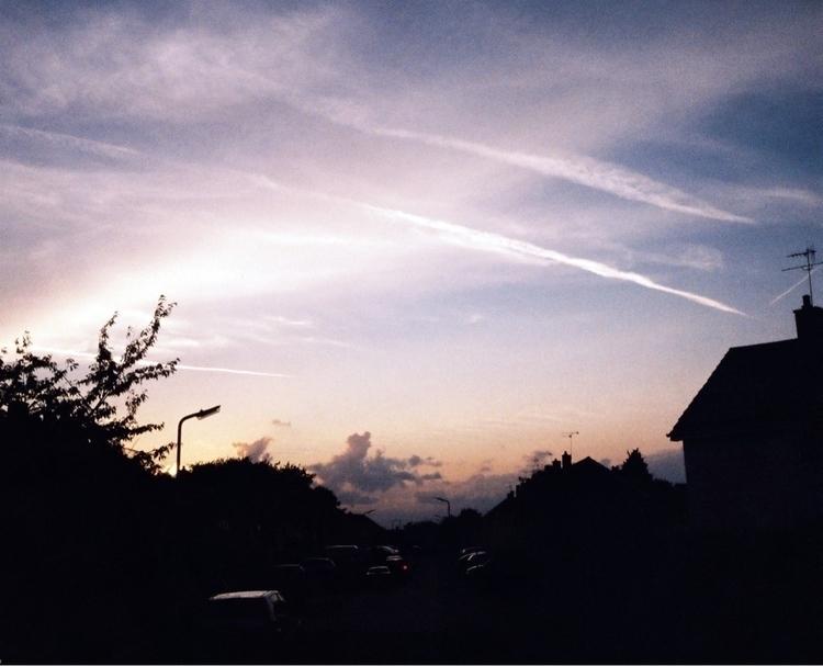 Sunset Sky - Olympus Pen Agfa V - paulbines | ello