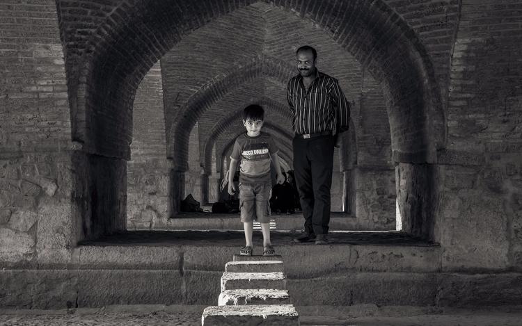 Father Son middleeast - Iran, Isfahan - julian_k | ello