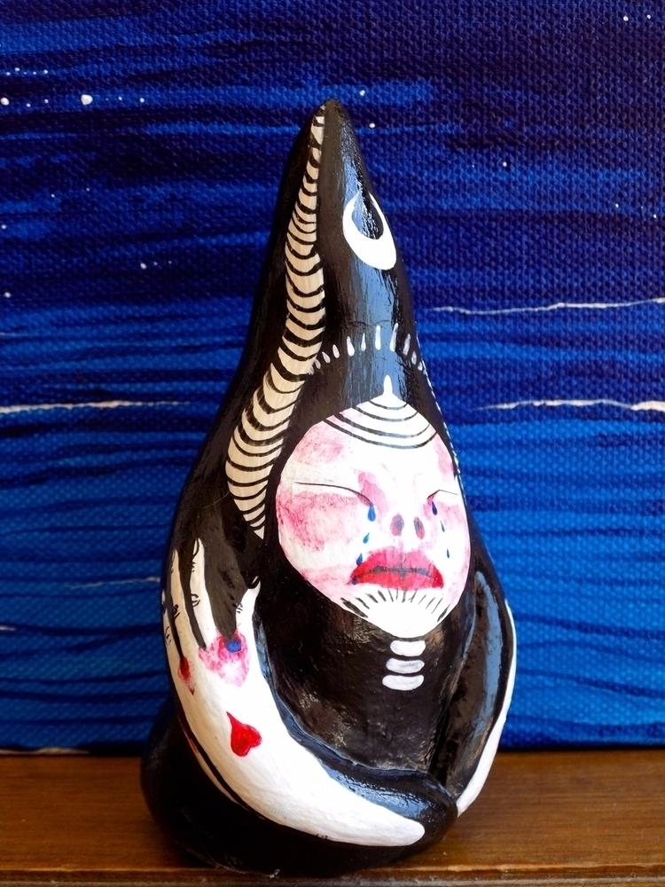 Night Maiden Sculpture - katherinesilvera   ello