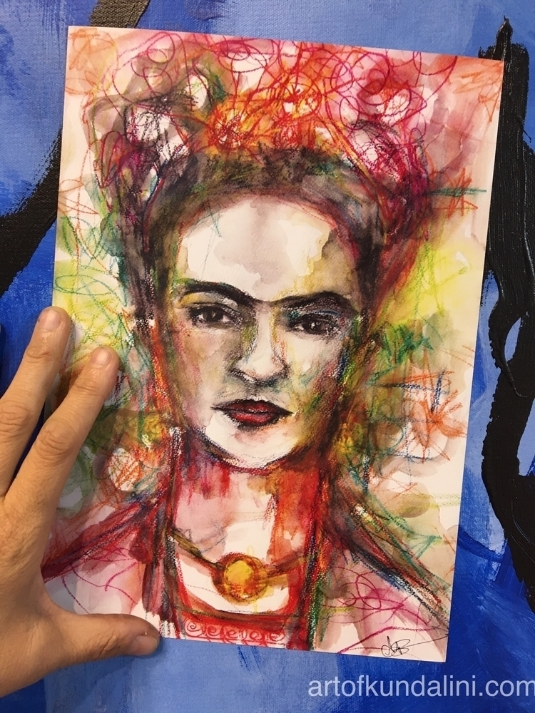 giving A4 prints Frida order in - arnabaartz | ello