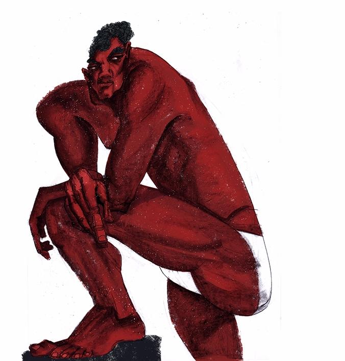 sketchbook, sketch, man, nude - ariadnagraphics | ello