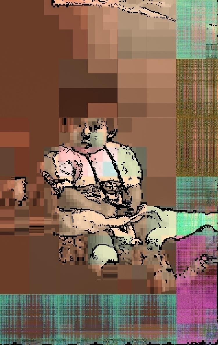 elloglitchart, glic, processing - twinpixel | ello